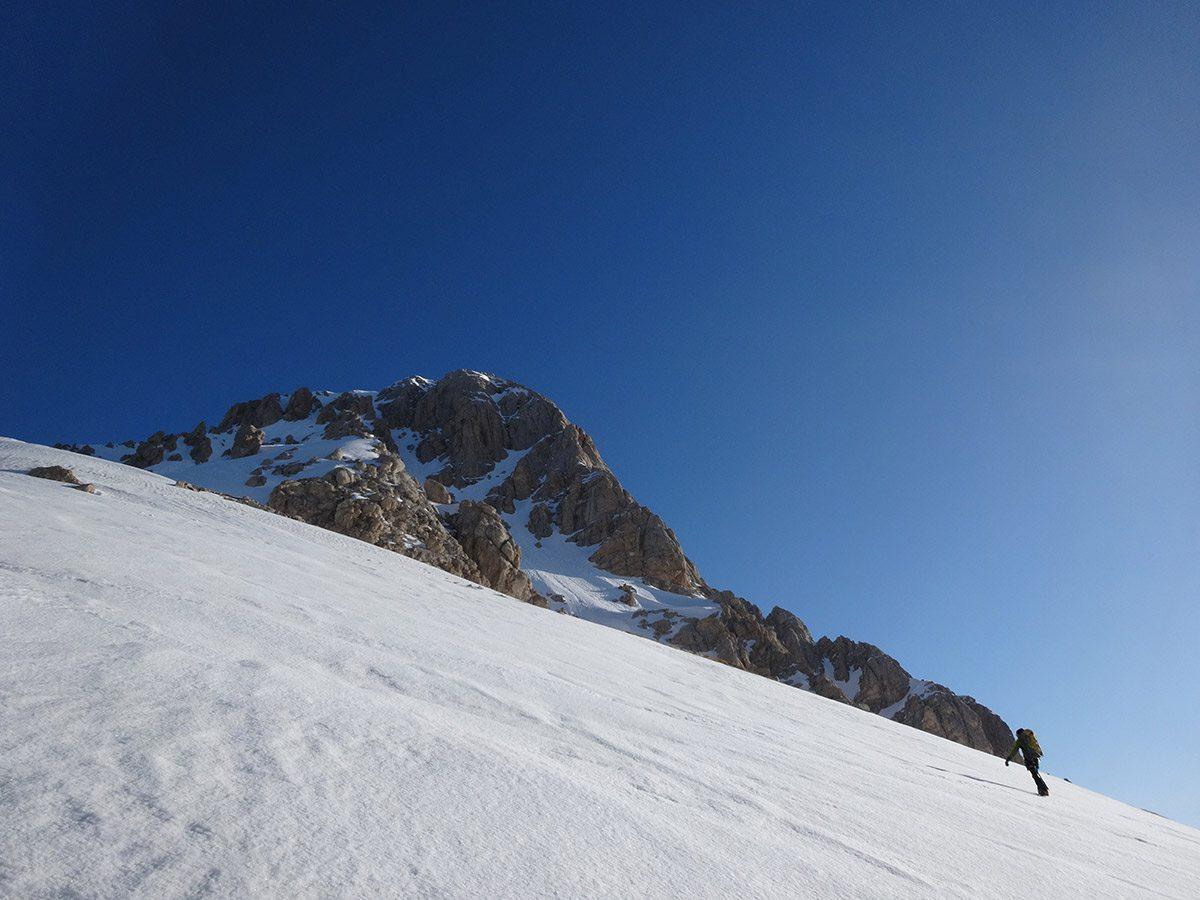 Verso la cresta