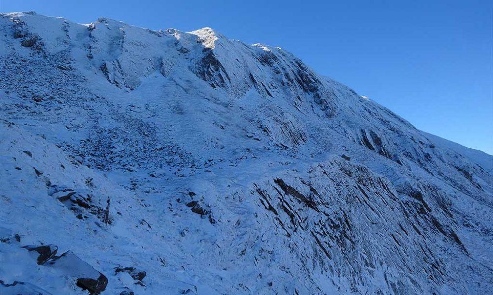 Condizioni neve e ghiaccio Appennino Settentrionale - Week 1