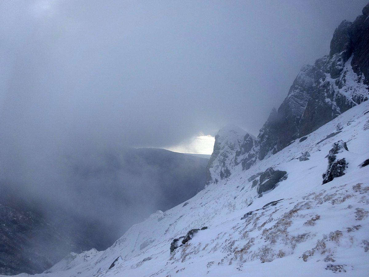 Monte Cavallo - Traversata Invernale