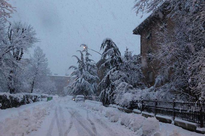 Condizioni neve e ghiaccio Appennino Settentrionale - Week 8