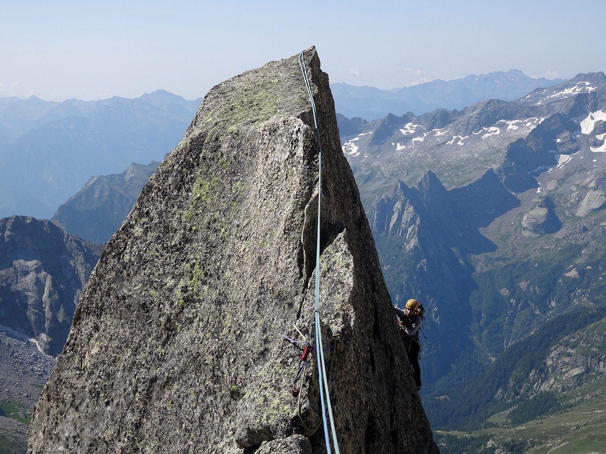 Cresta Marimonti e traversata al Pizzo Badile