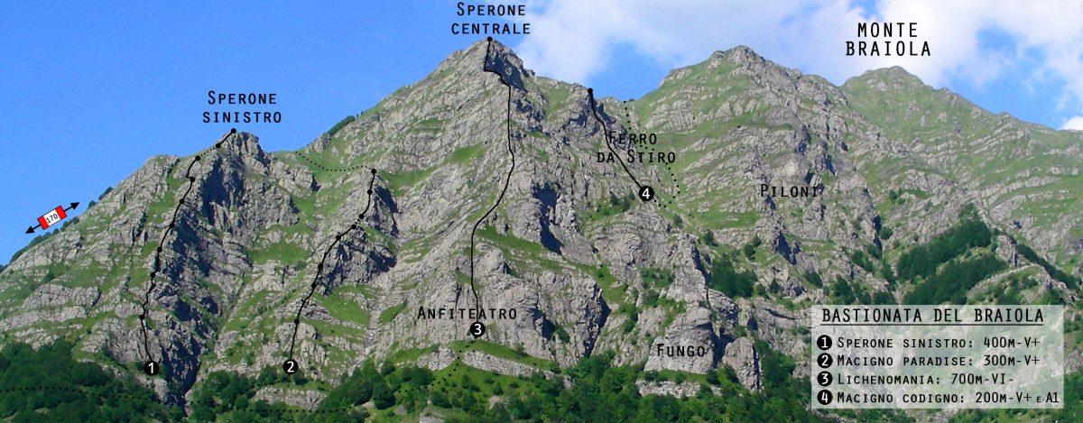 Bastionata del Braiola - Macigno Codigno