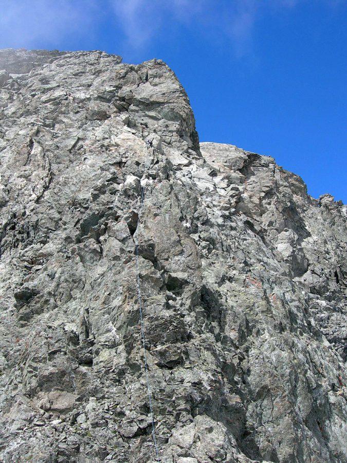 Sulla cresta (foto A. Piazza)