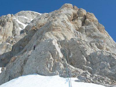 Corno Grande - Cresta SSE