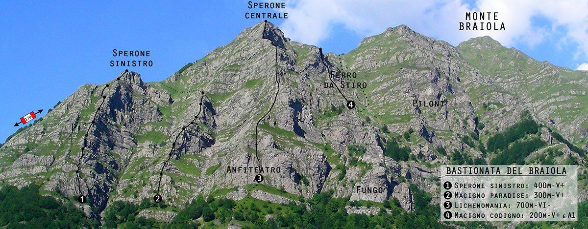 Bastionata del Braiola