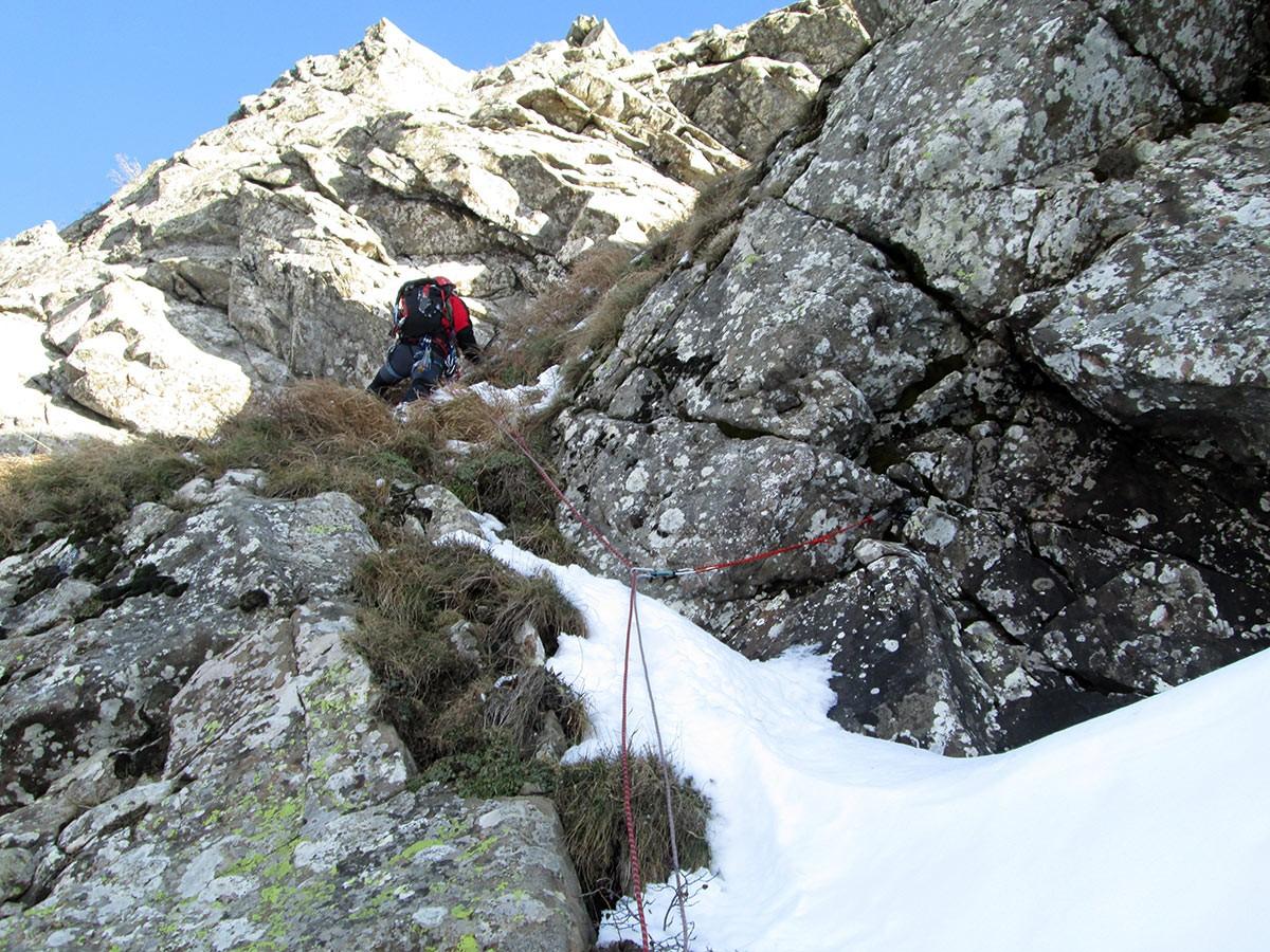 Alpe di Succiso - Diedro Barbarossa