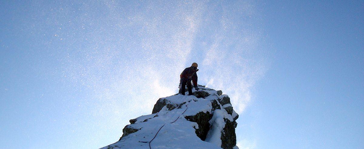 Cresta dello Sterpara - Sentiero Alpinistico R. Fava (invernale)