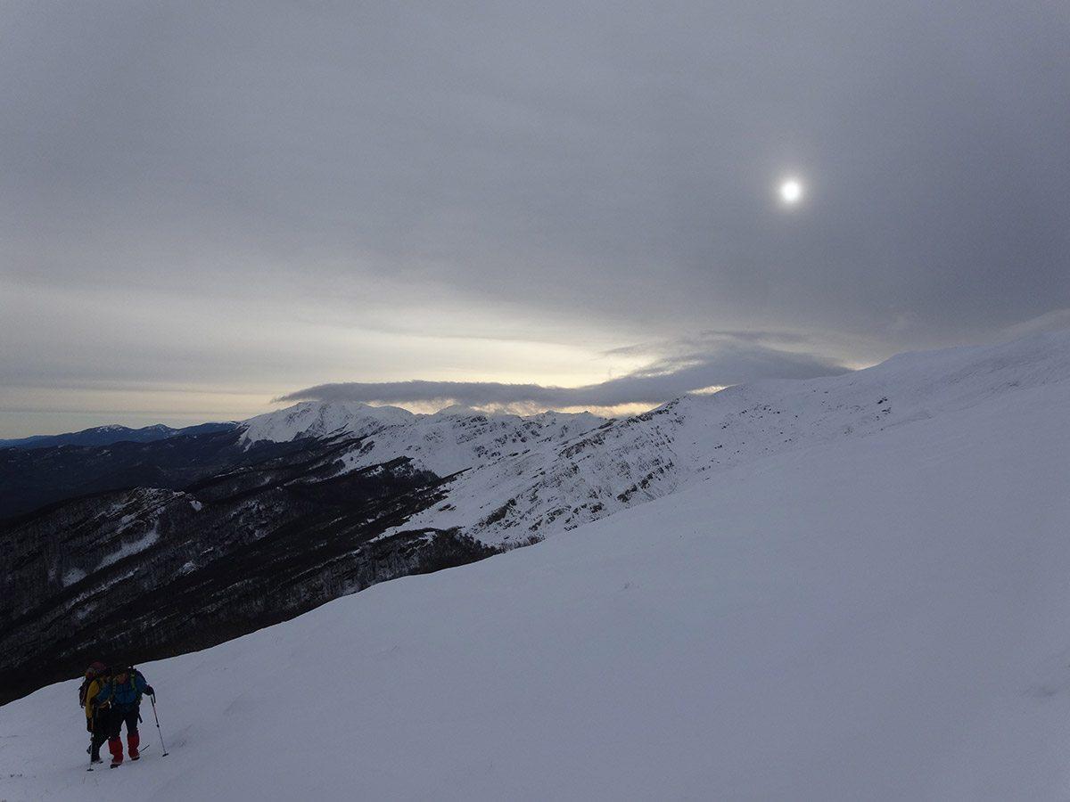 Nubi minacciose sull'Alpe di Succiso