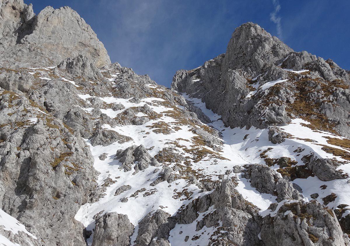 Monte Visolo - Canale Ovest