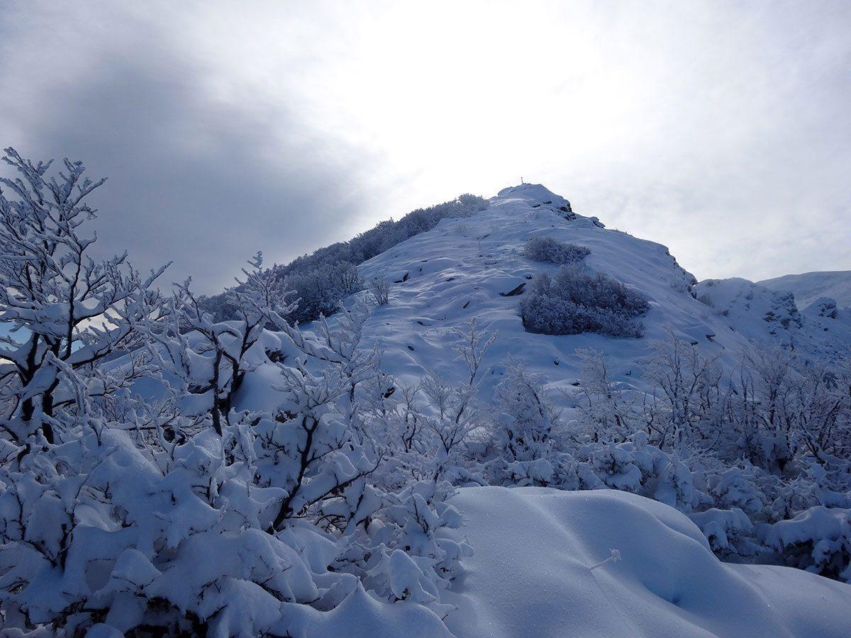 Il versante settentrionale di Rocca Pumaccioletto