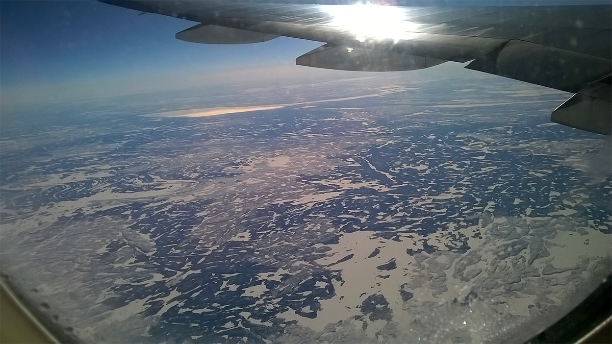 La pianura del Canada