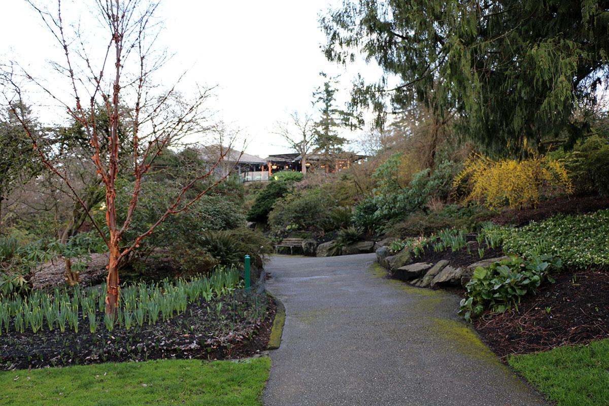 I vialetti del Queen Elizabeth Park