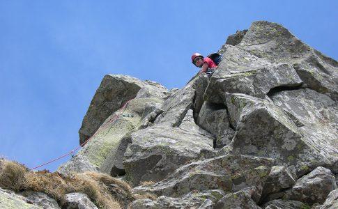 Monte Roccabiasca - Cresta Sud