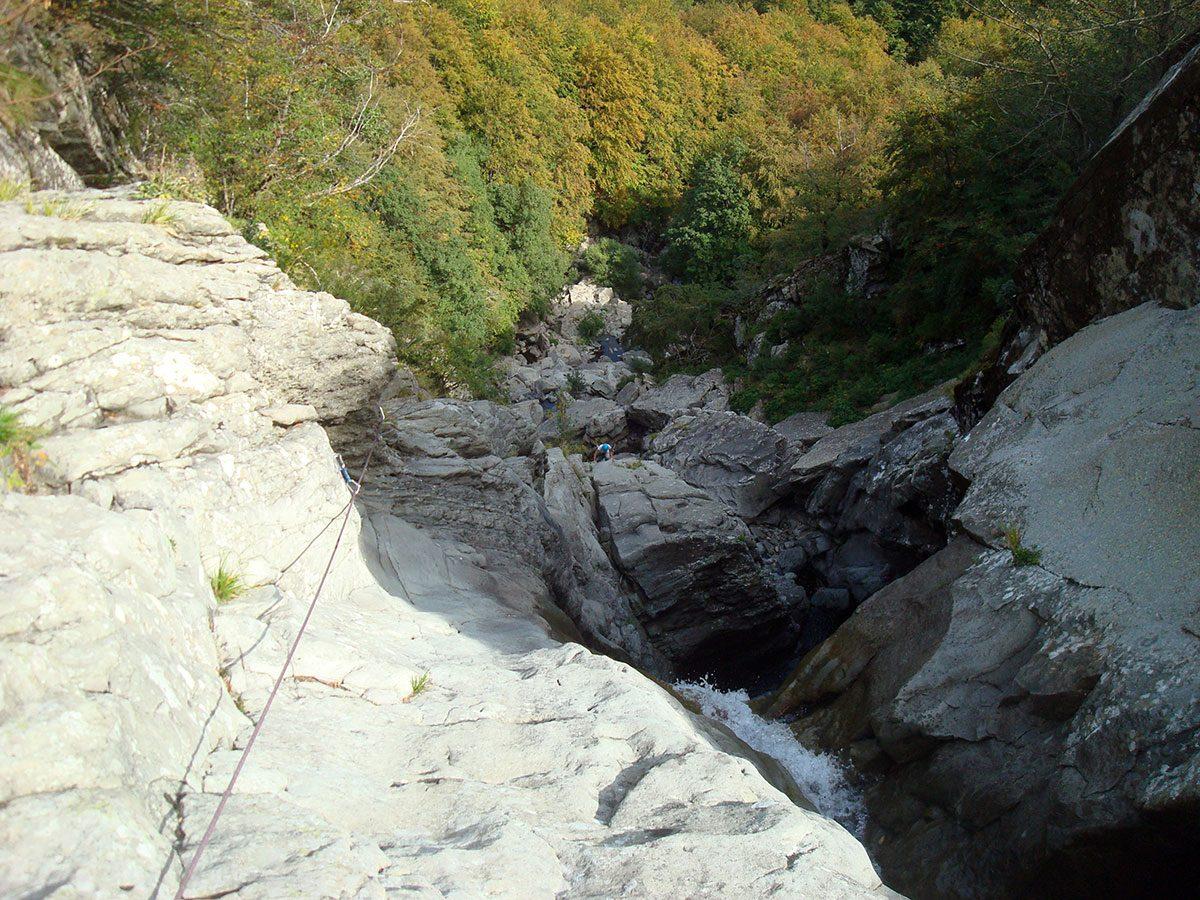 Pilastro della Cascata - Salto nel Passato