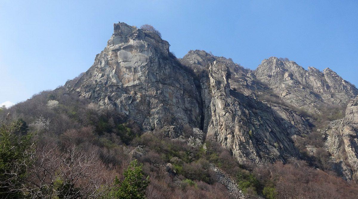 Rocca Sbarua - Gervasutti-Ronco