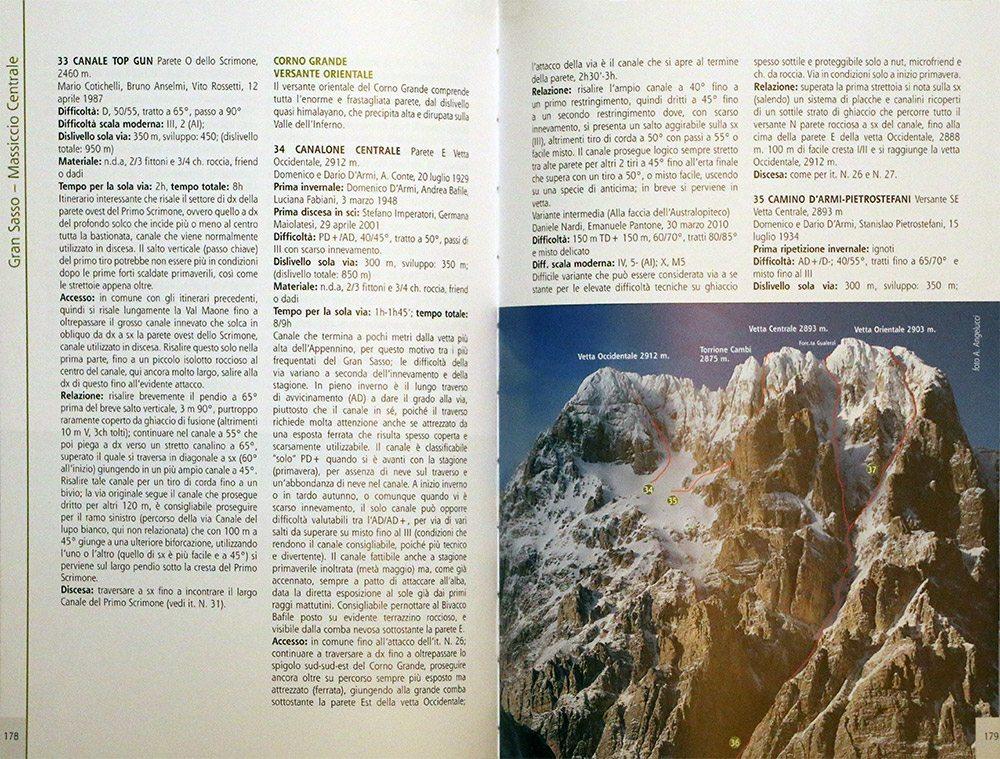 Pagina 178/179 - Gran Sasso (Massiccio Centrale)