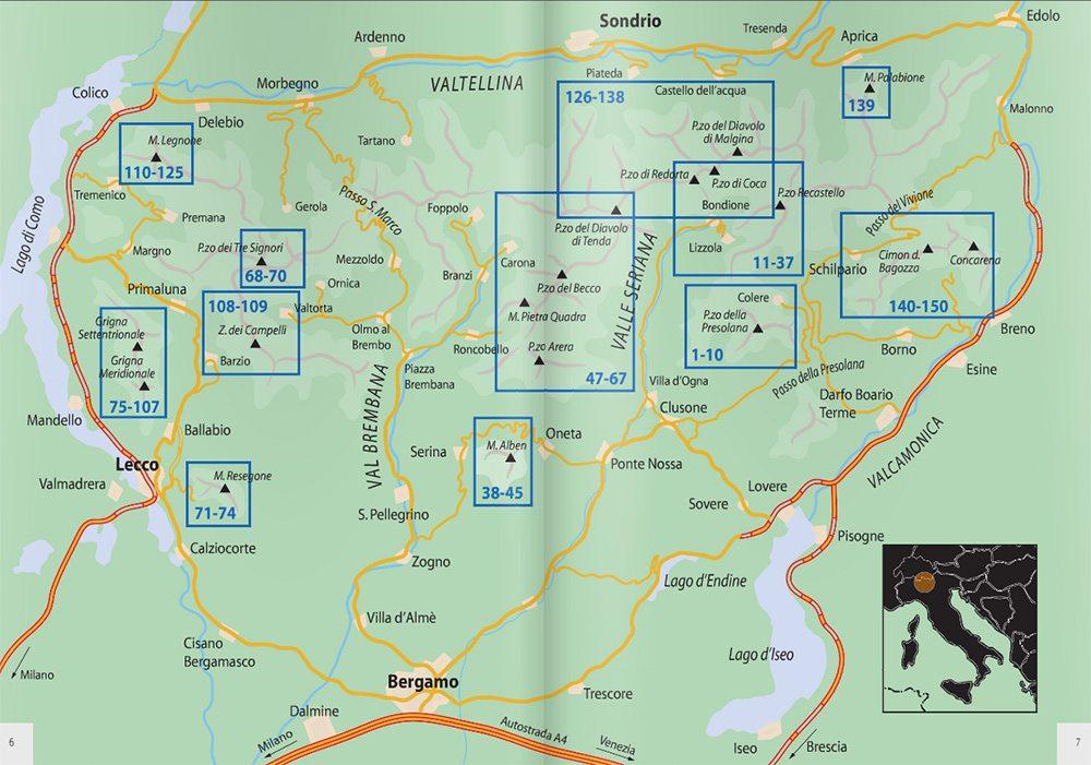 Pagina 6/7 - Mappa itinerari