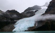Il ghiacciaio del Mount Robson