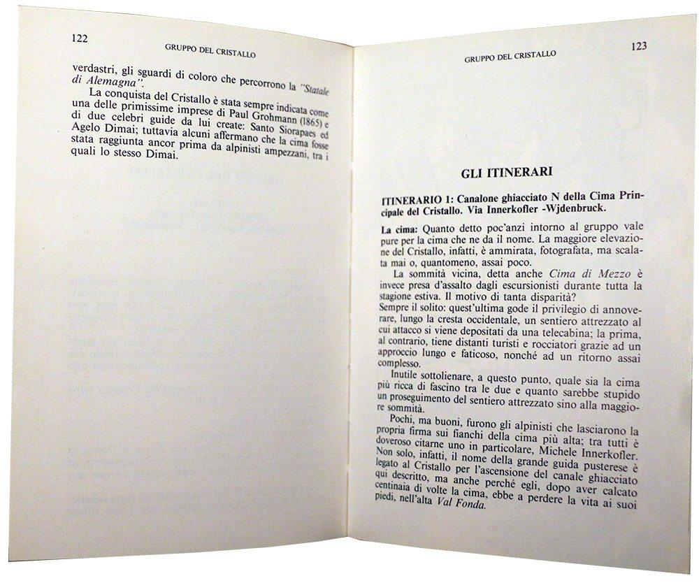 Pagina 122/123 - Gruppo del Cristallo