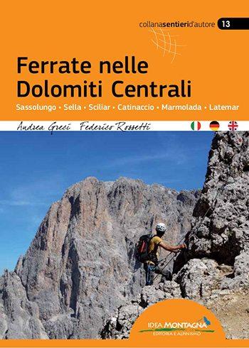 Book Cover: Ferrate Nelle Dolomiti Centrali