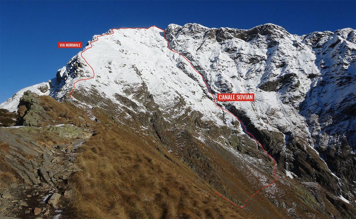 Monte Legnone - Canale Sovian