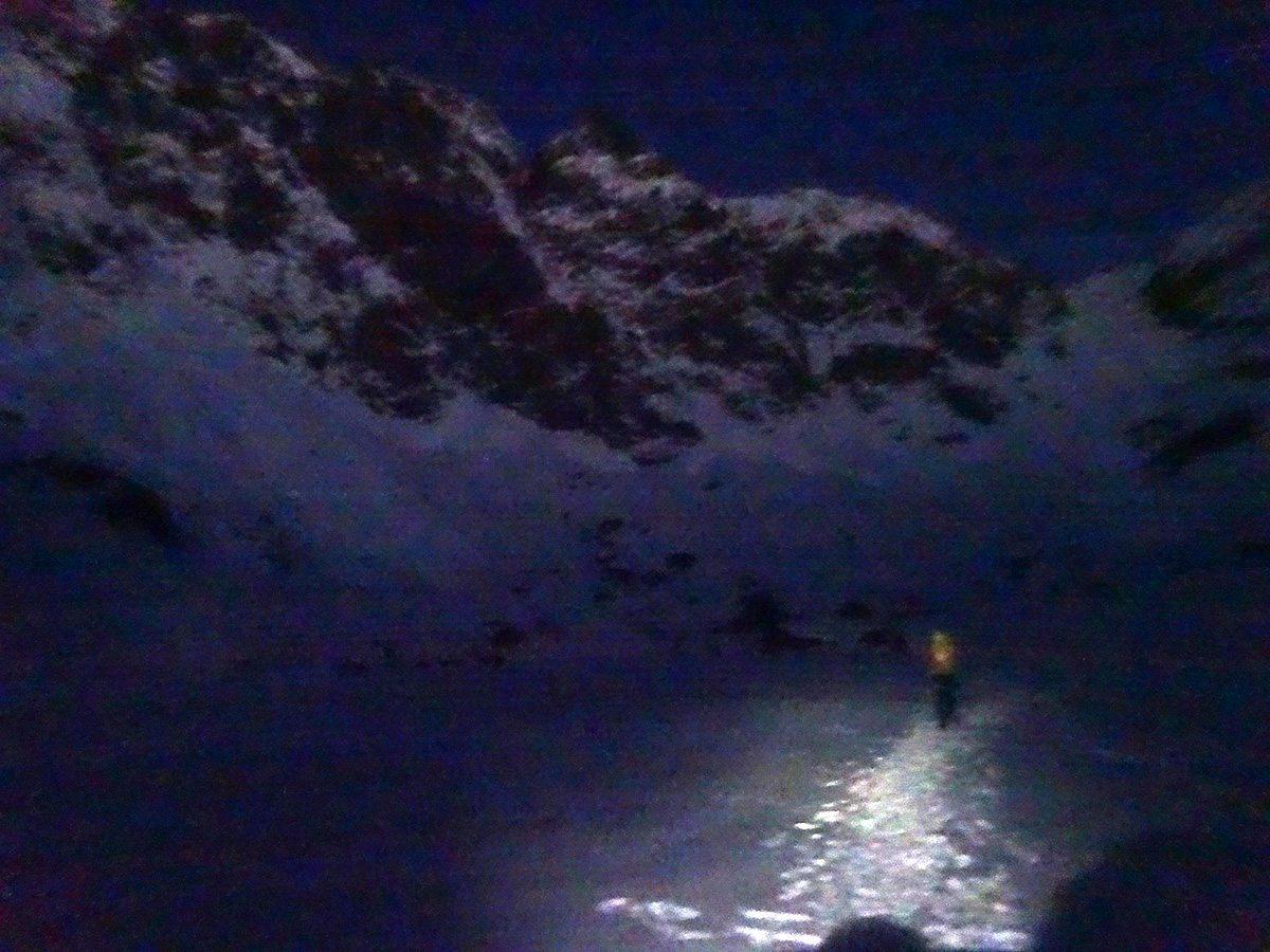 Avvicinamento al buio