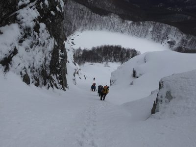 Monte Giovo - Canale Centrale e Sinistro
