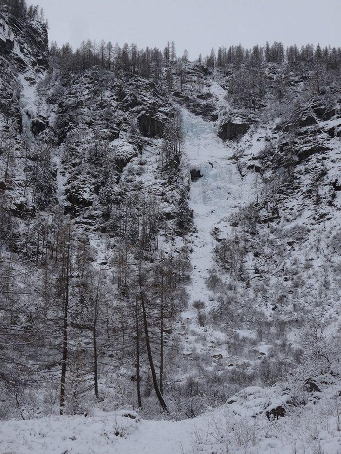 La linea della cascata