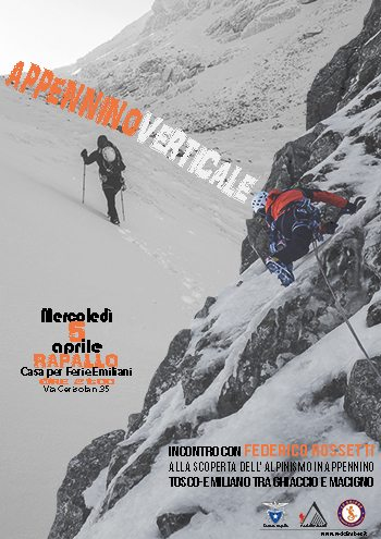 Serata Appennino Verticale 5aprile2017 Rapallo
