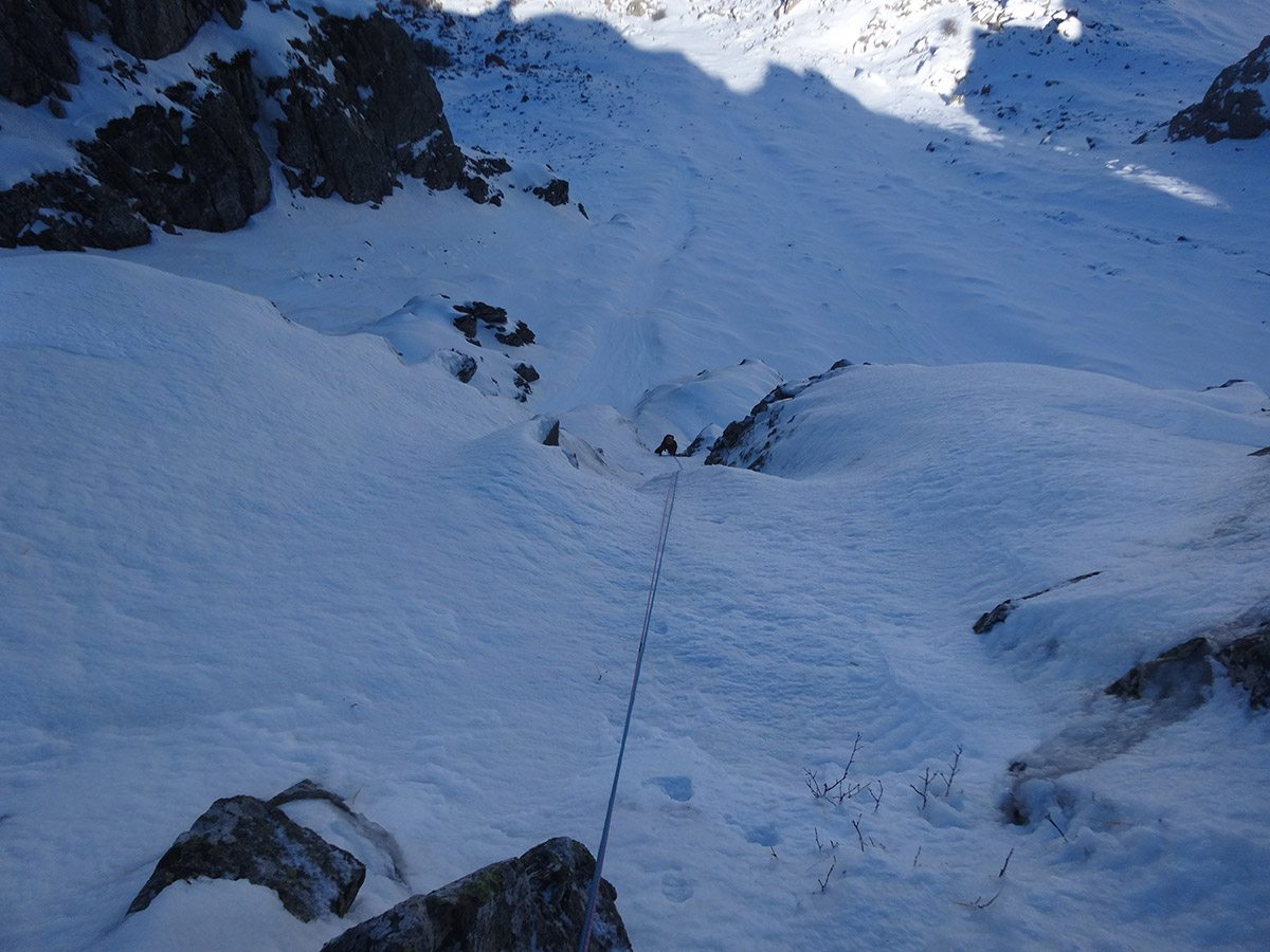 1° tiro di Looking for gully