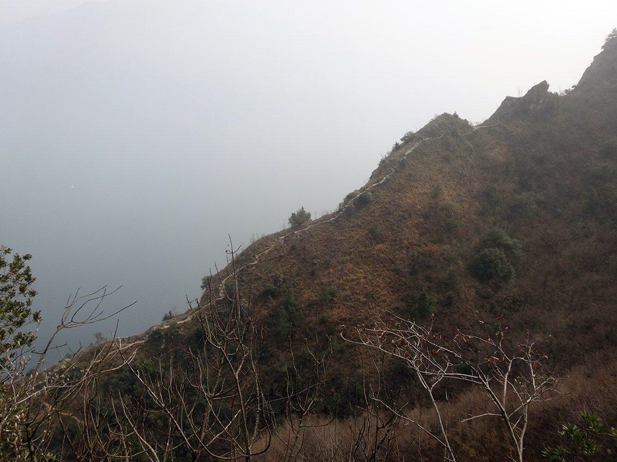 La cresta dell'avvicinamento