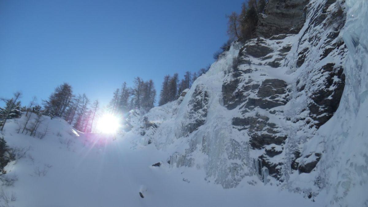 Val Varaita - Cascata Martinet di destra