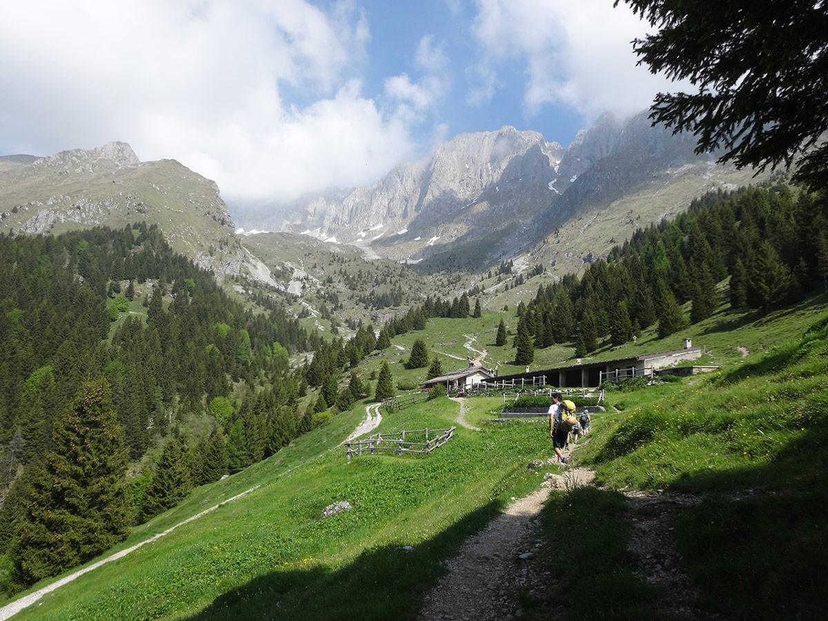 Verso il Rifugio Cassinelli
