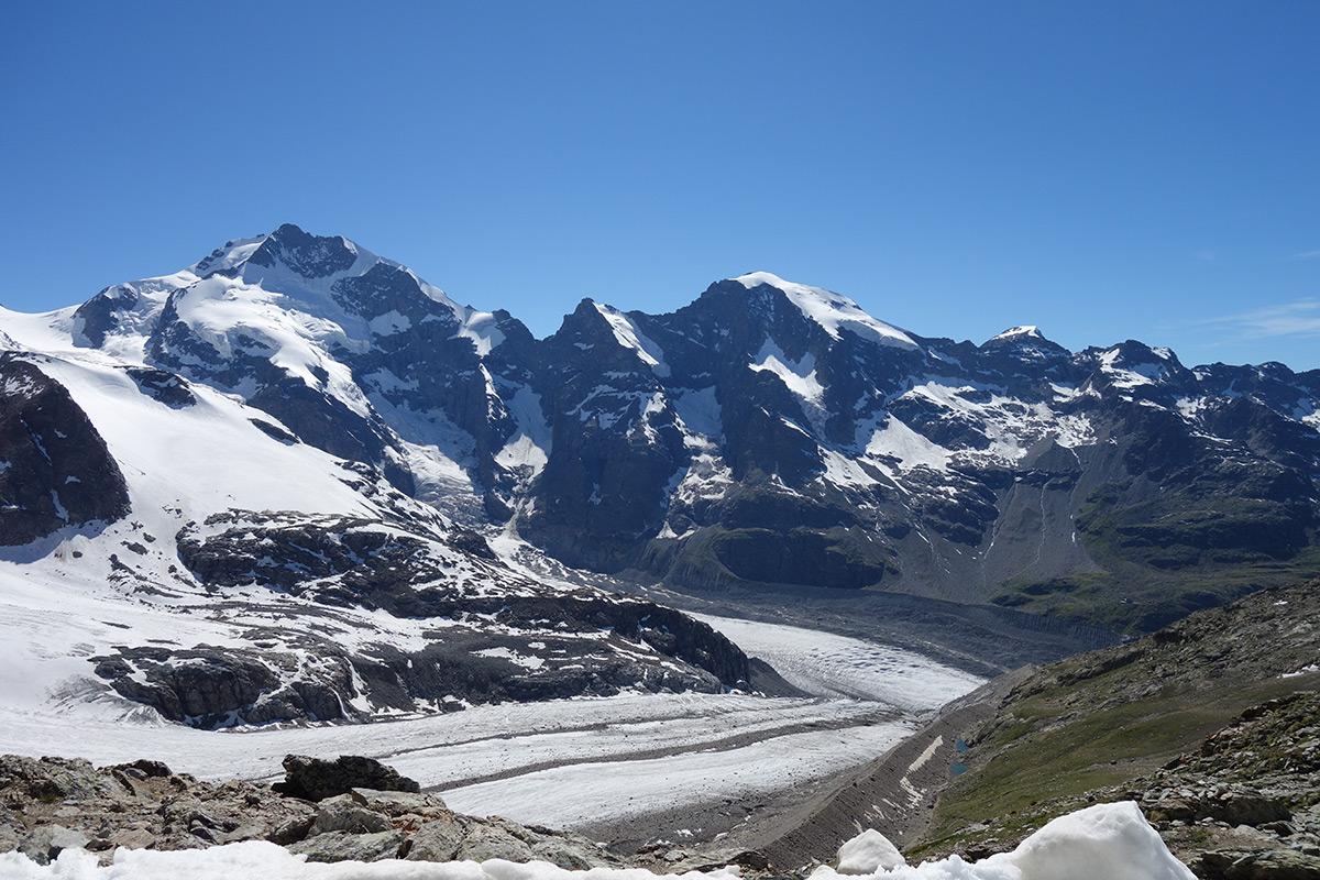Verso il Bernina