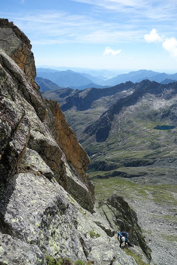 Pizzo di Loranco - Cresta del Lago Maggiore