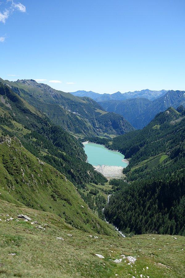 Il lago Alpe dei Cavalli
