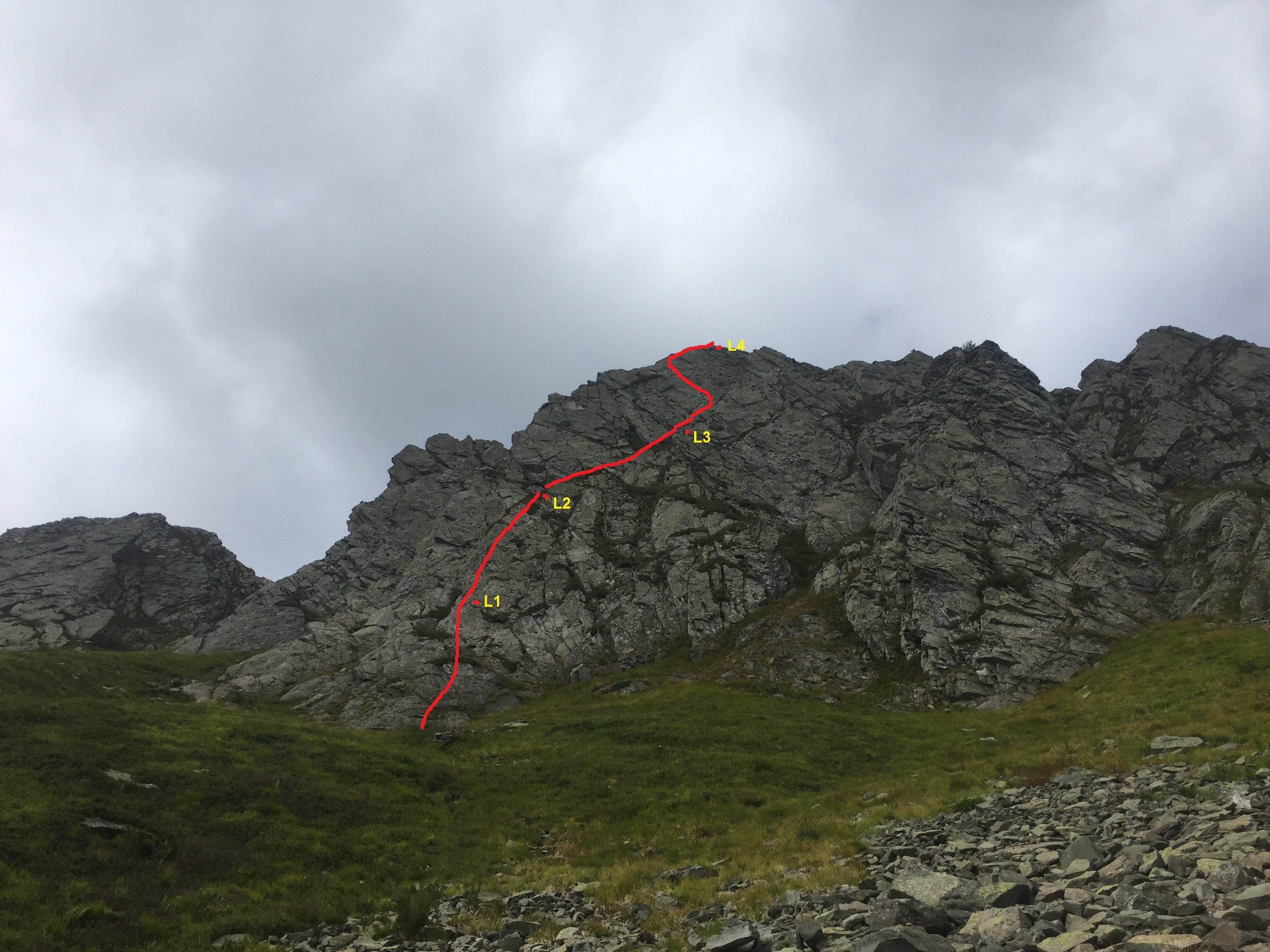 Monte Prado - Via Ovis Musimon