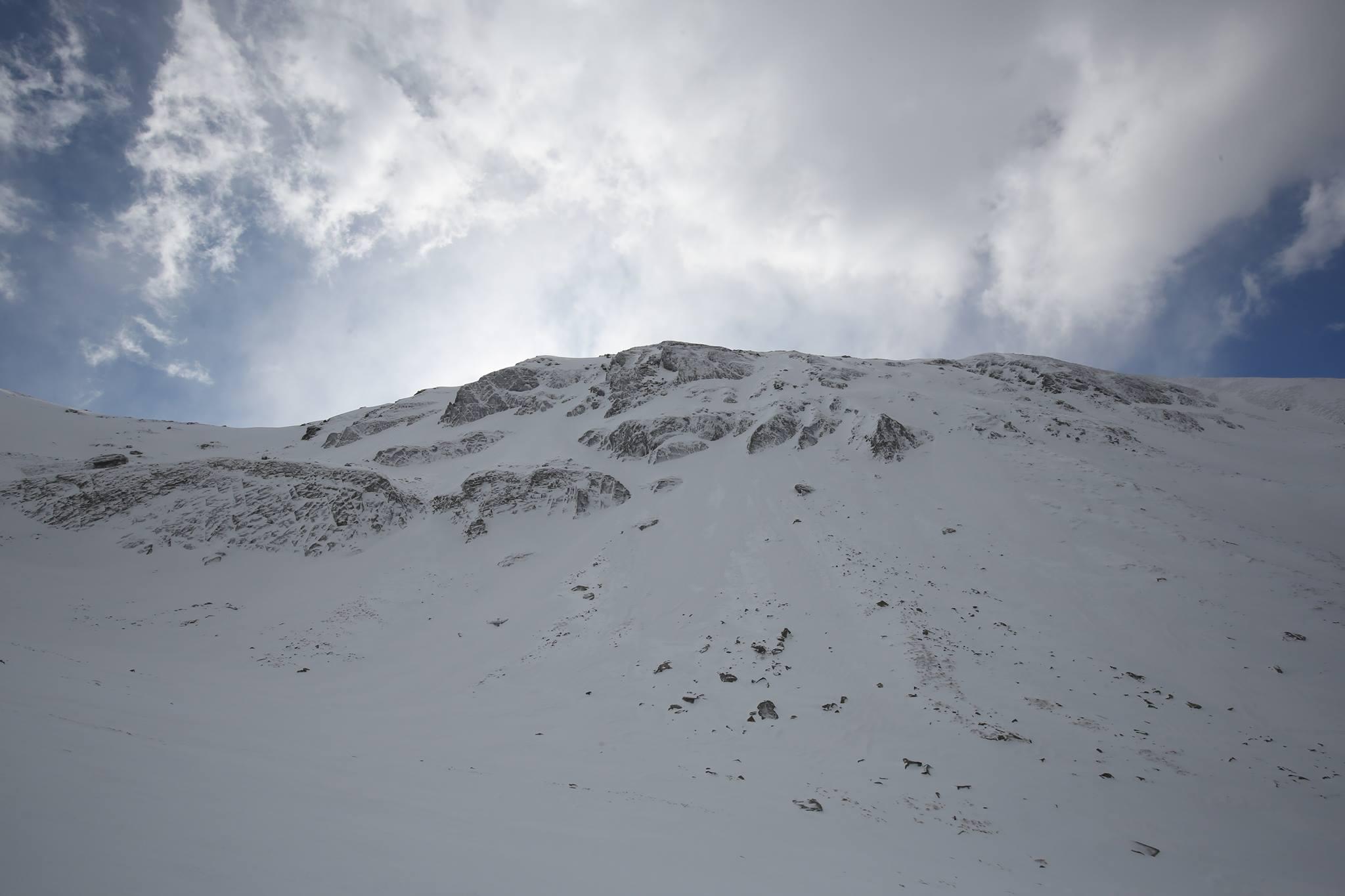 Il versante Nord dell'Alpe di Succiso (foto Stefano Panciroli)