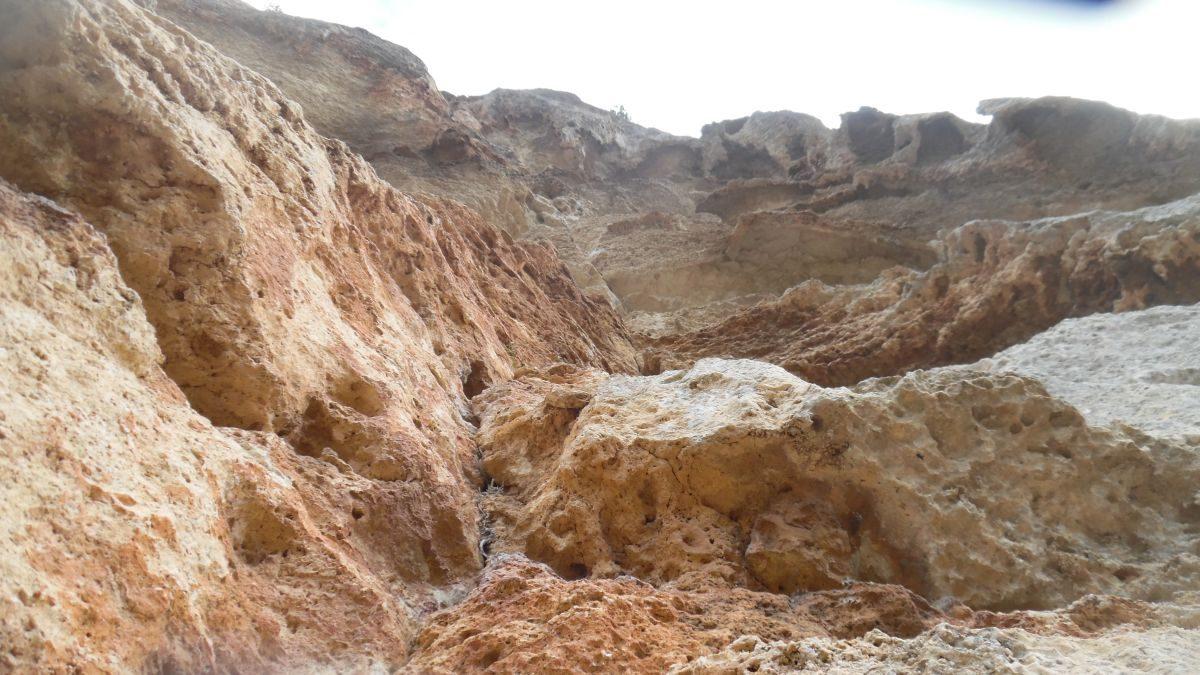 L'erosione dove sale il quinto tiro
