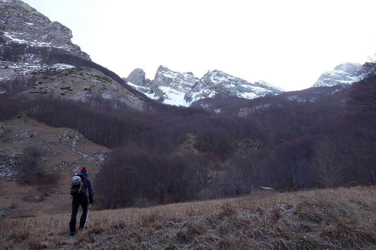 Partenza dal Val Serenaia
