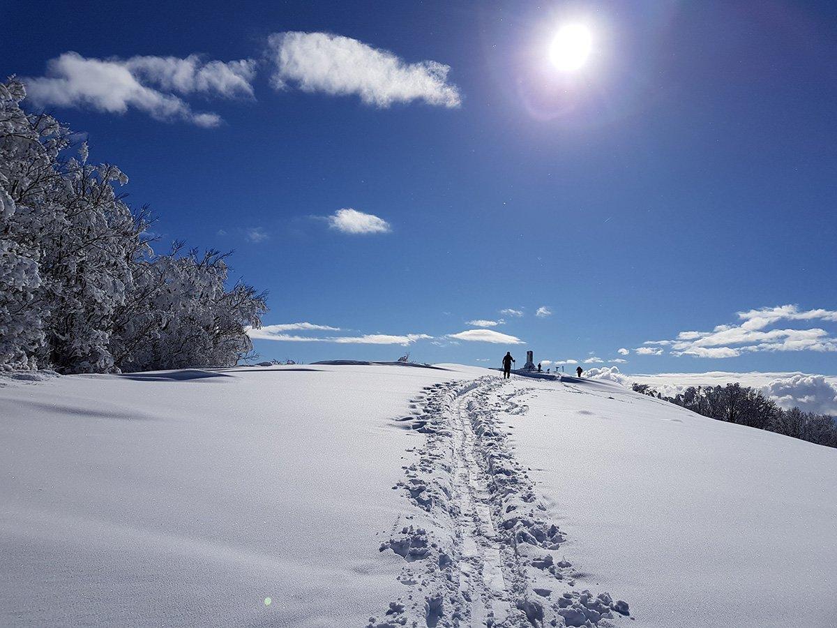Monte Caio (8 febbraio 2018)