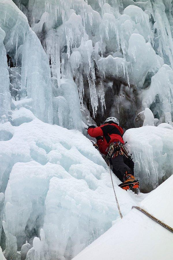 Primi metri sul ghiaccio