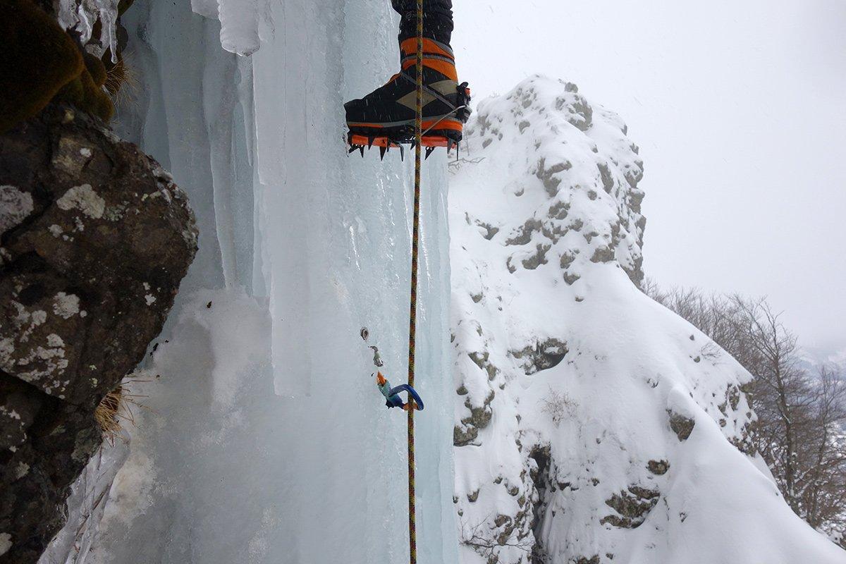 La verticale partenza del 2° tiro