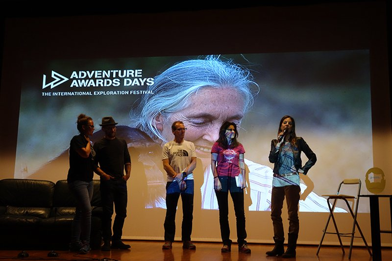 La premiazione dell'Adventure Awards Days 2018