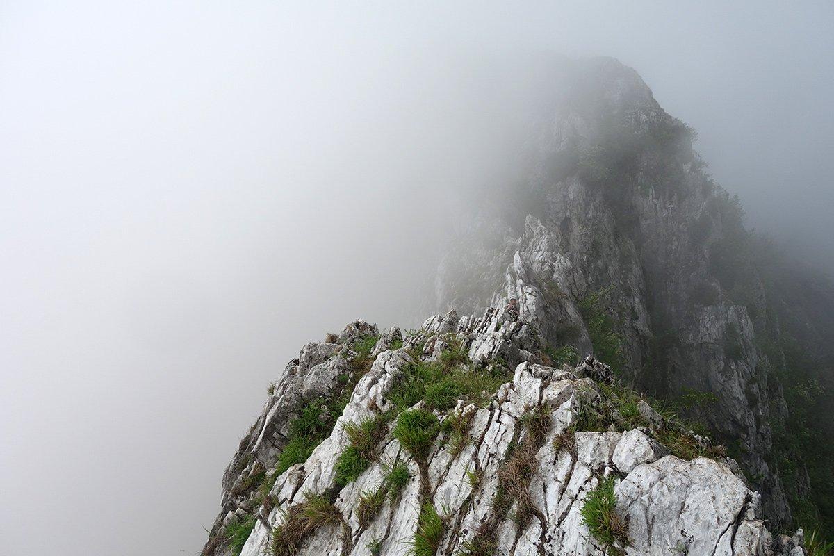 La cresta finale