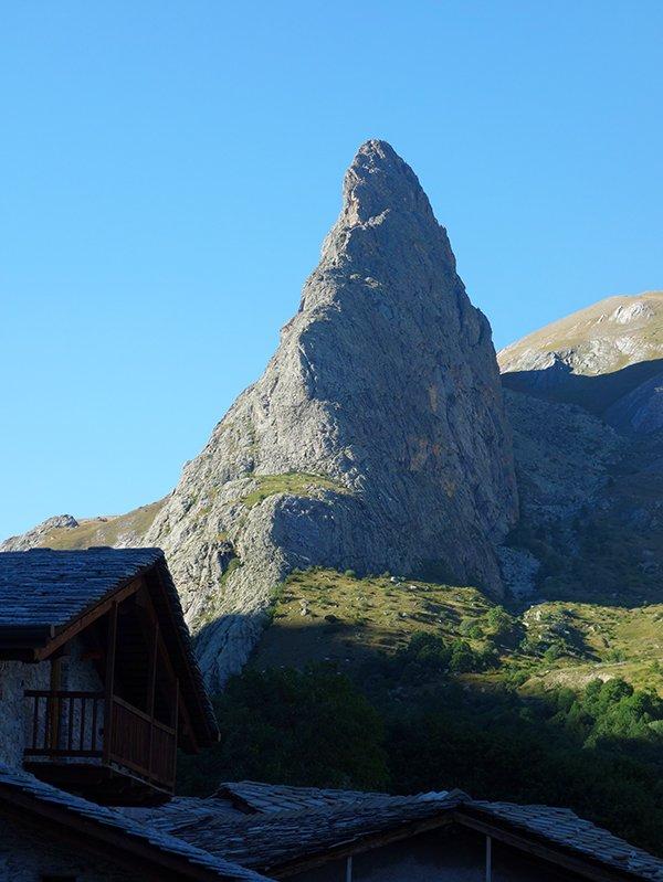 La bella forma di Rocca Provenzale
