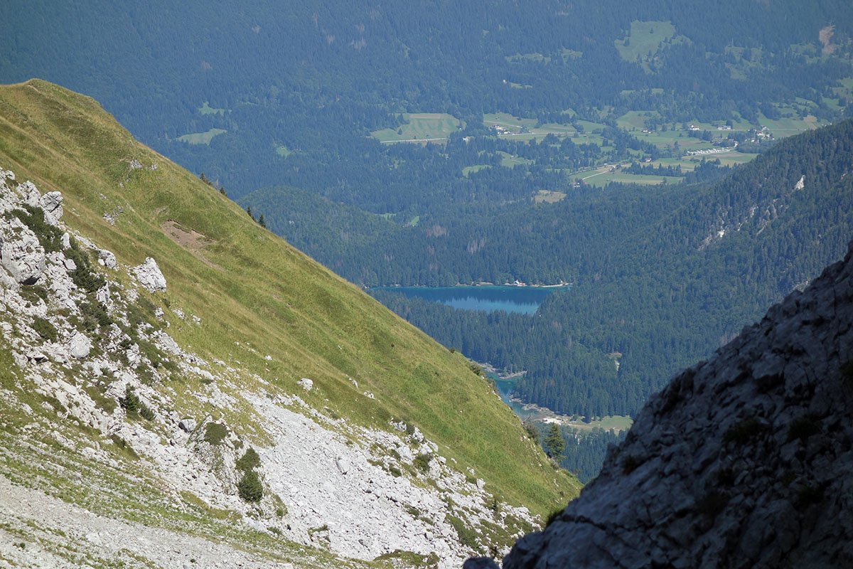 Scorci verso i laghi di Fusine