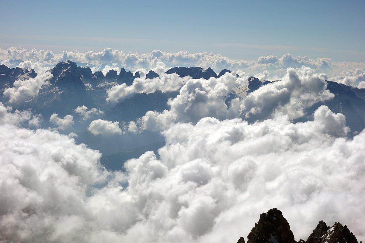 Nuvole sul Brenta