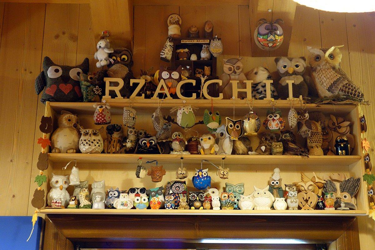 I gufi del Rifugio Zacchi