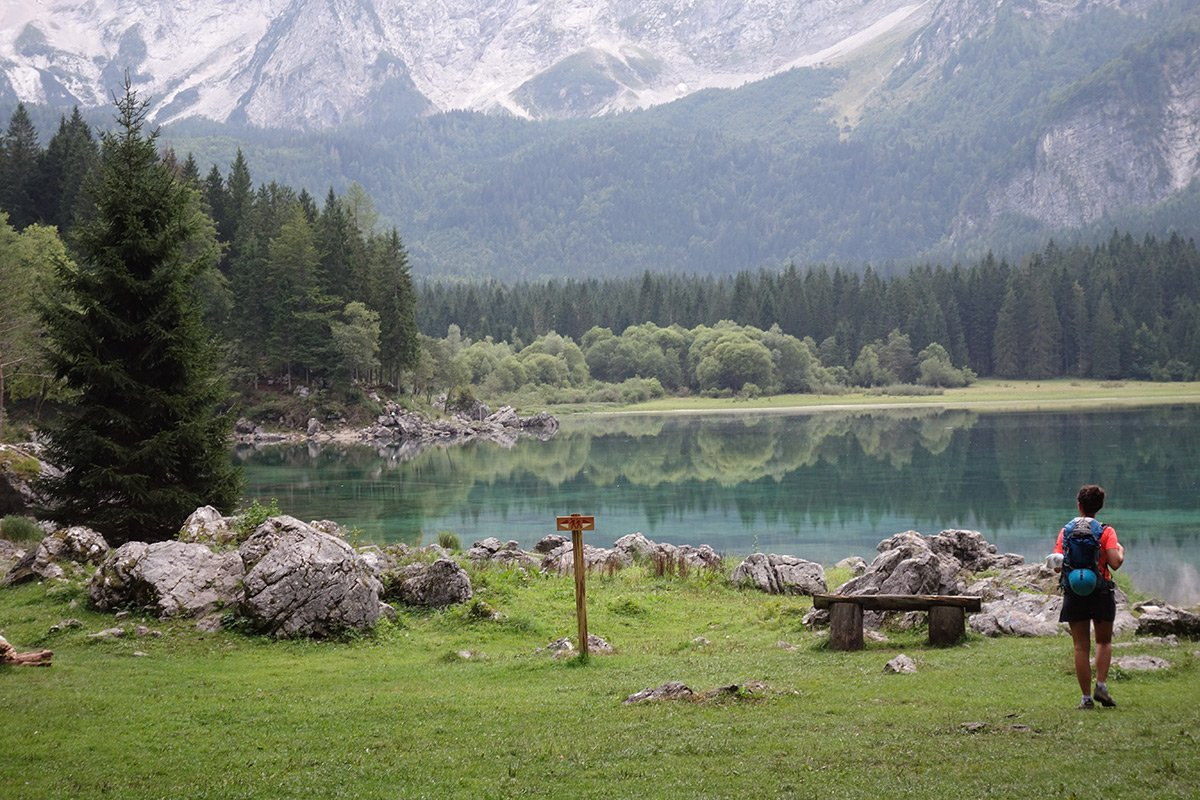 Lago superiore di Fusine